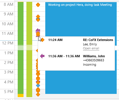 activity tracking for accurate time sheets
