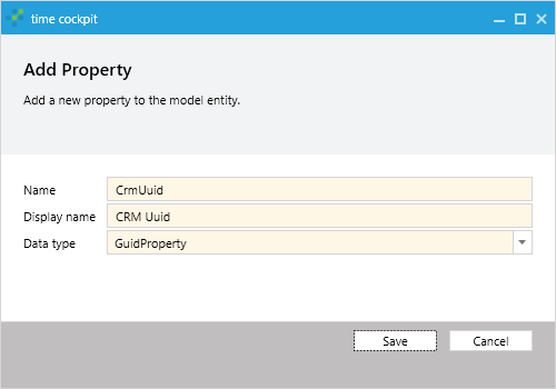 Add CrmUuid Property