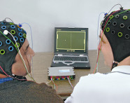 Playing ping pong with EEG